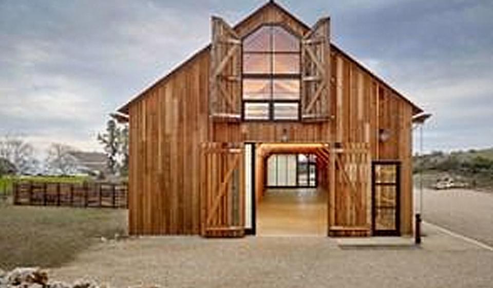 University of California Santa Cruz Historic Hay Barn Reconstruction